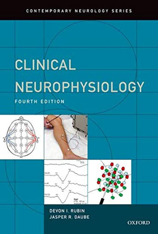 Clinical Neurophysiology (Contemporary Neurology Series), Hardcover, 4 Edition by Rubin, MD Devon (Used)