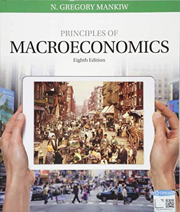 Principles of Macroeconomics, Paperback, 8 Edition by Mankiw, N. Gregory (Used)
