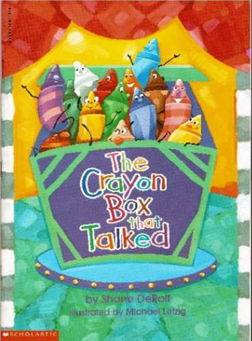 The Crayon Box That Talked, Paperback, First Printing Edition by Shane DeRolf (Used)