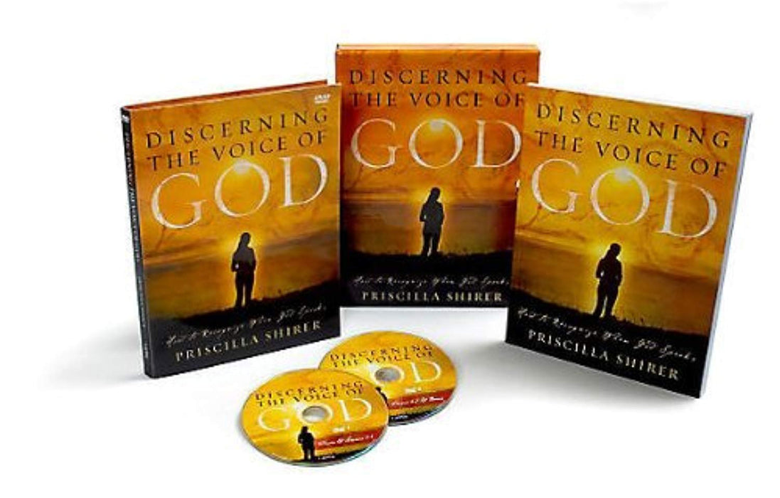 Discerning the Voice of God (2006 edition) - Leader Kit: How to Recognize When God Speaks, DVD-ROM, Box Dvdr Edition by Shirer, Priscilla (Used)