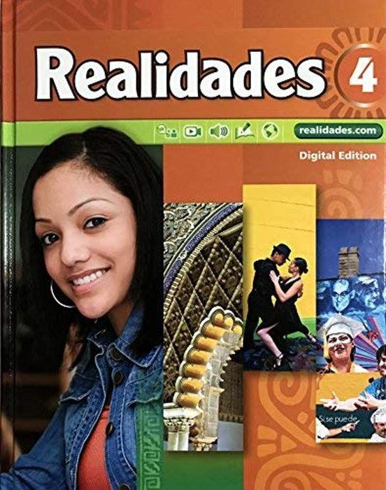 Realidades 4, Hardcover by Garcia Zayas-Bazan Bacon (Used)