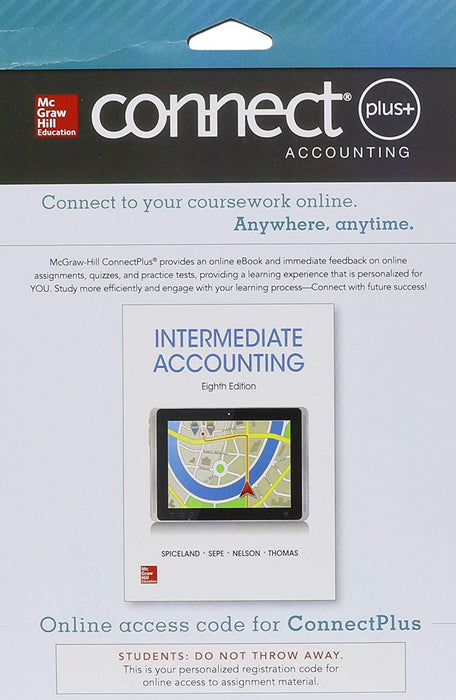 LooseLeaf Intermediate Accounting w/ Annual Report; Connect Access Card, Loose Leaf, Eighth Edition by Spiceland, J. David
