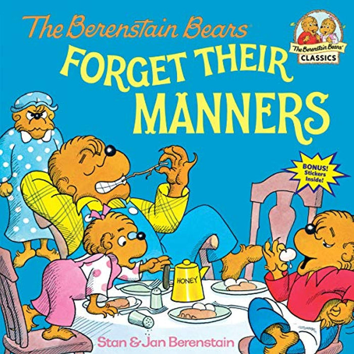 The Berenstain Bears Forget Their Manners, Paperback, Illustrated Edition by Berenstain, Stan (Used)