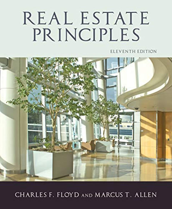 Real Estate Principles, 11th Edition, Hardcover, 11th Edition by Charles F. Floyd and Marcus T. Allen (Used)