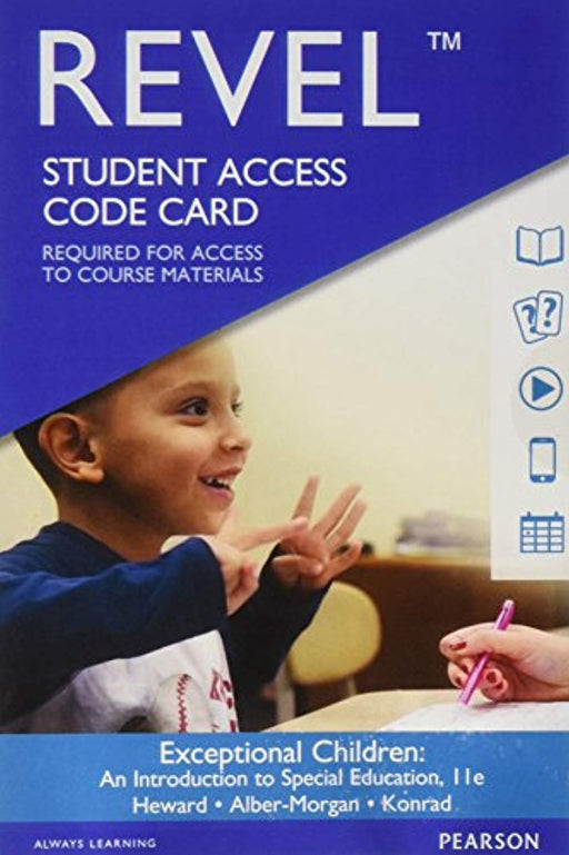 Revel for Exceptional Children: An Introduction to Special Education -- Access Card (11th Edition), Misc. Supplies, 11 Edition by Heward, William L. (Used)