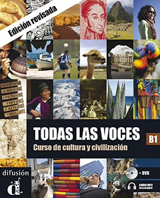 Todas las Voces Libro del alumno+DVD: Todas las Voces Libro del alumno+DVD (ELE NIVEAU ADULTE TVA 5,5%) (French Edition), Paperback by Chamorro, César (Used)
