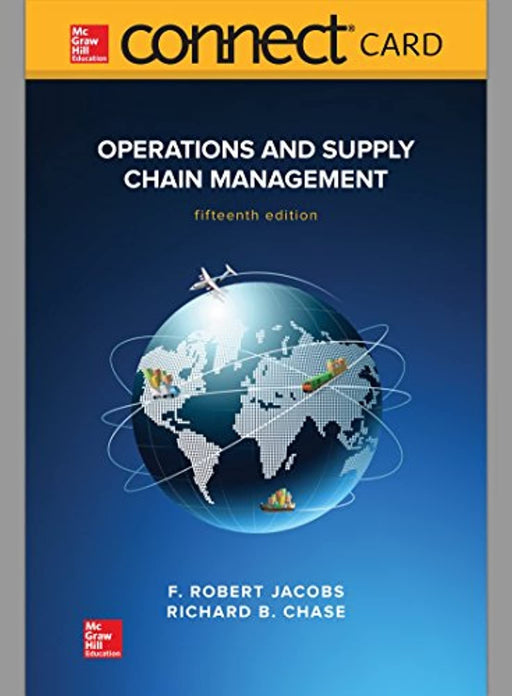 Operations and Supply Chain Management Connect Access Card, Printed Access Code, 15 Edition by Jacobs, F. Robert