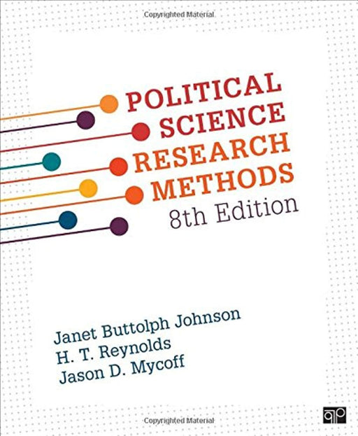 Political Science Research Methods, Paperback, 8th Edition by Janet Buttolph Johnson (Used)