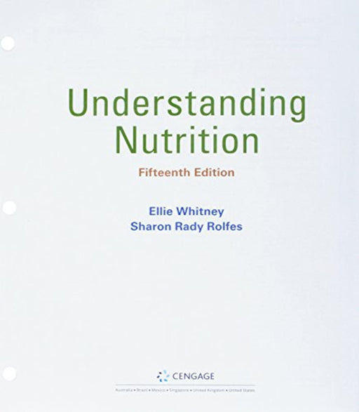 Bundle: Understanding Nutrition, Loose-leaf Version, 15th + MindTap Nutrition, 1 term (6 months) Printed Access Card, Product Bundle, 15 Edition by Whitney, Ellie (Used)