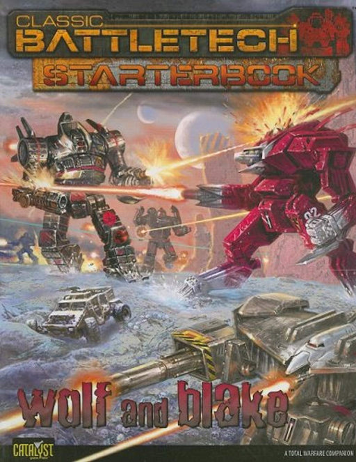 Cbt Starterbook: Wolf & Blake, Paperback by Catalyst Game Labs (Used)