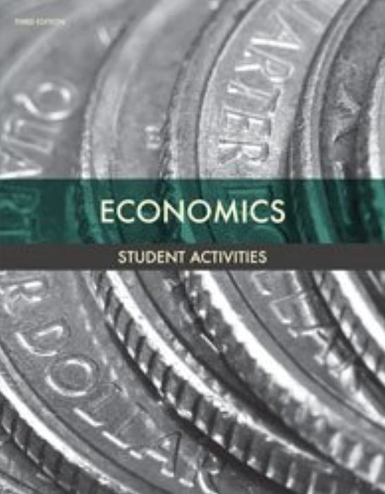 BJU Economics Student Activities 3rd Edition, 3rd Edition (Used)