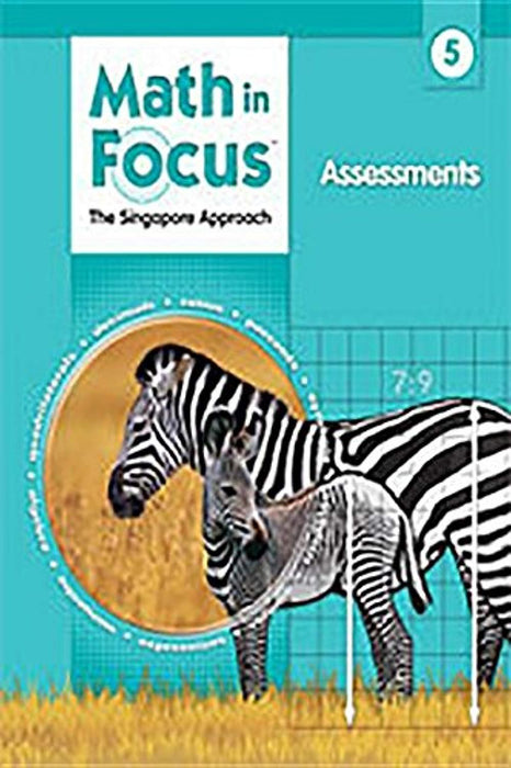 Assessments Grade 5 (Math in Focus: Singapore Math), Paperback, 1 Edition by Marshall Cavendish