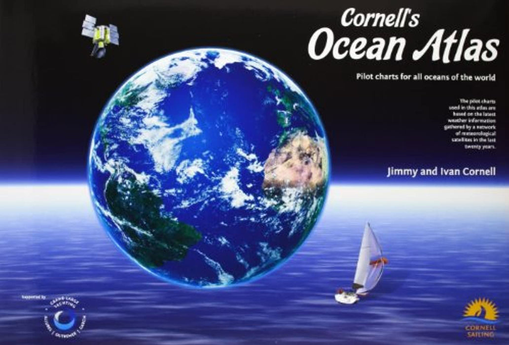 Cornell's Ocean Atlas: Pilot Charts for All Oceans of the World, Spiral-bound, Spi Edition by Jimmy Cornell (Used)