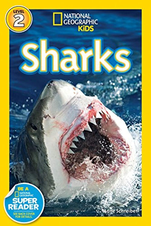 National Geographic Readers: Sharks! (Science Reader Level 2), Paperback, Illustrated Edition by Schreiber, Anne