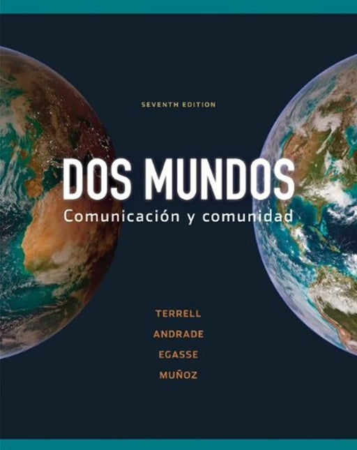 Workbook/Lab Manual Part B to accompany Dos mundos (Cuarderno De Actividades), Paperback, 7 Edition by Terrell, Tracy (Used)