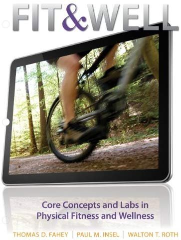 Connect with LearnSmart Access Card for Fit & Well, CD-ROM, Tenth Edition by McGraw Hill
