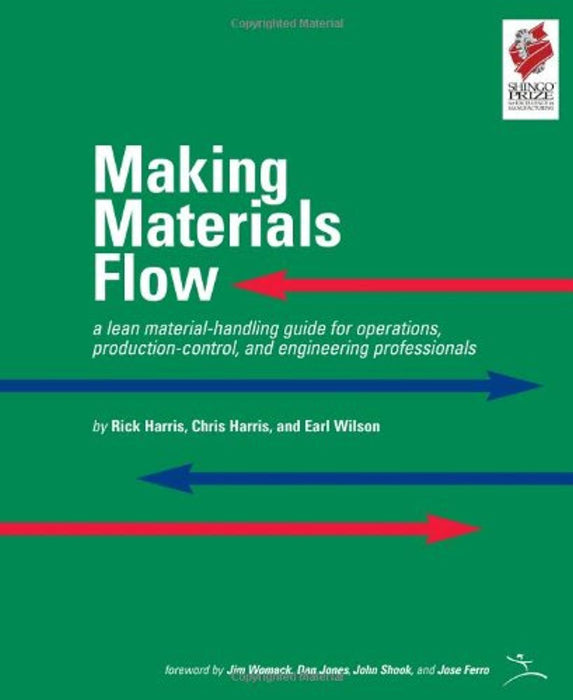 Making Materials Flow: A Lean Material-Handling Guide for Operations, Production-Control, and Engineering Professionals, Spiral-bound, September  2003, version 1.0 Edition by Harris, Rick