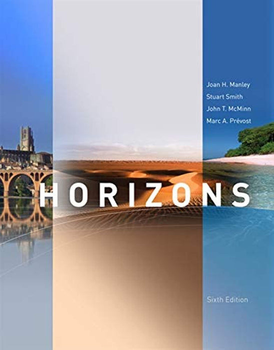Horizons, 6th Edition (World Languages), Hardcover, 6 Edition by Manley, Joan H.
