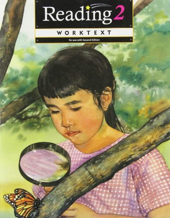 Reading 2 Worktext for Christian Schools: A & B, Paperback, 2nd Wrkbk Edition by BJU Press