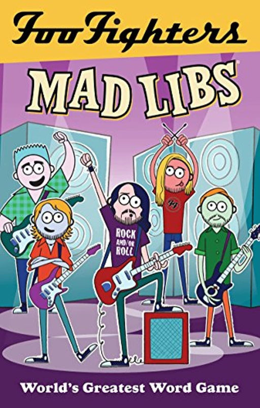 Foo Fighters Mad Libs, Paperback, Csm Edition by LaMarca, Jameson (Used)