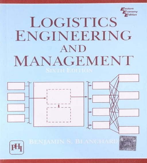 Logistics Engineering & Management 6th Economy Edition, Paperback, Sixth Edition by Blanchard, Benjamin S. (Used)