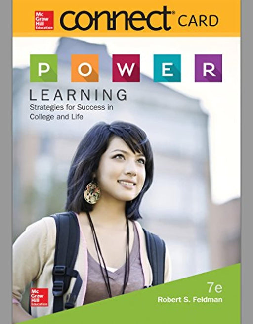 Connect Access Card for P.O.W.E.R. Learning: Strategies for Success in College and Life, Paperback, 7 Edition by Feldman, Robert (Used)