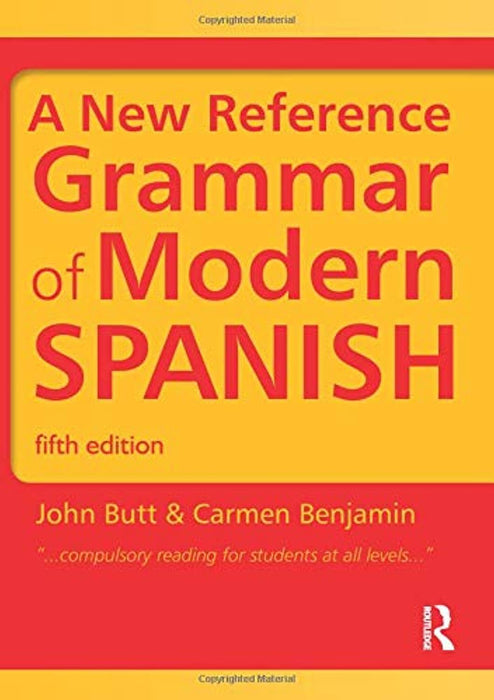 Spanish Grammar Pack: A New Reference Grammar of Modern Spanish (Volume 2), Paperback, Fifth Edition by Butt, John (Used)