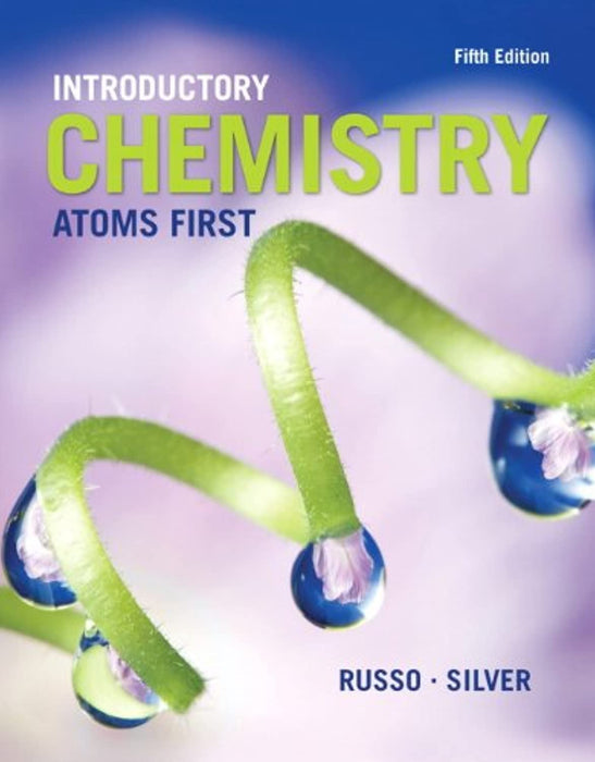 Introductory Chemistry: Atoms First, Hardcover, 5 Edition by Russo, Steve (Used)