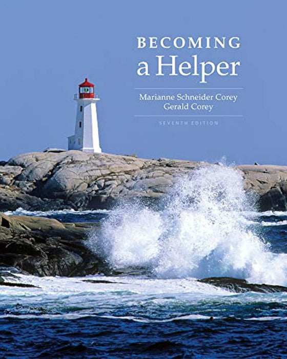 Becoming a Helper, Paperback, 7 Edition by Corey, Marianne Schneider (Used)