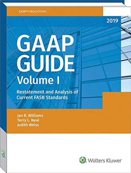 GAAP Guide (2019), Paperback by Jan R. Williams (Used)