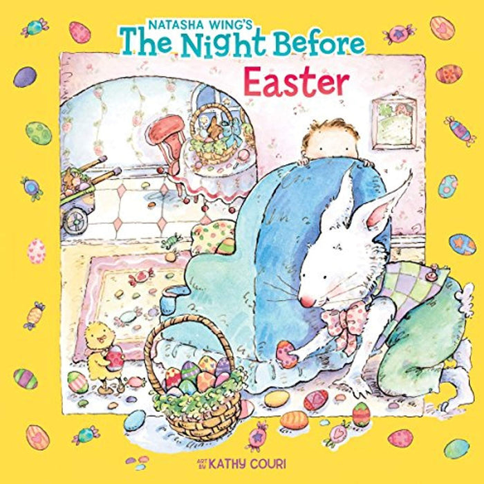 The Night Before Easter, Paperback, Illustrated Edition by Natasha Wing (Used)