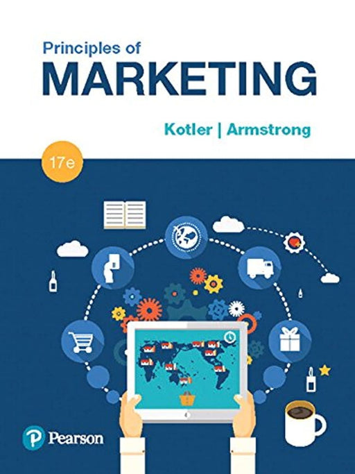 Principles of Marketing (17th Edition), Hardcover, 17 Edition by Kotler, Philip (Used)