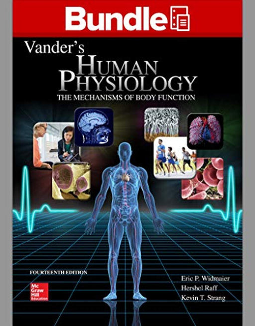 Loose Leaf Version of Vander's Human Physiology with Connect Access Card, Loose Leaf, 14 Edition by Widmaier, Eric