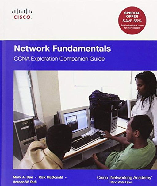 Network Fundamentals: CCNA Exploration Companion Guide (Cisco Networking Academy), Hardcover, Reprint Edition by Dye, Mark A. (Used)