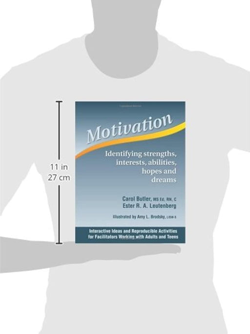 Motivation - Identifying Strength, Iinterests, Abilities, Hopes, and Dreams, Spiral-bound, Spi Edition by Carol Butler (Used)