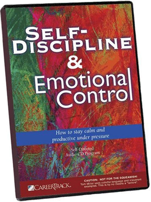 Self Discipline and Emotional Control, Audio CD by Tom Miller (Used)