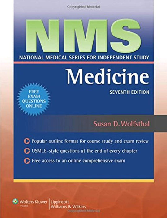 NMS Medicine (National Medical Series for Independent Study), Paperback, Seventh Edition by Wolfsthal, Susan (Used)