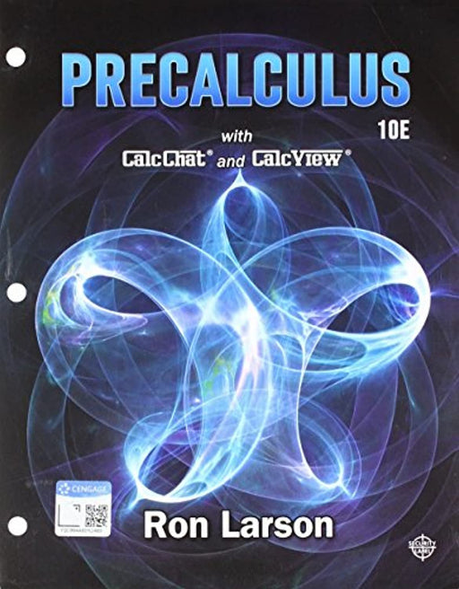 Precalculus, Loose-leaf Version, Loose Leaf, 10 Edition by Larson, Ron