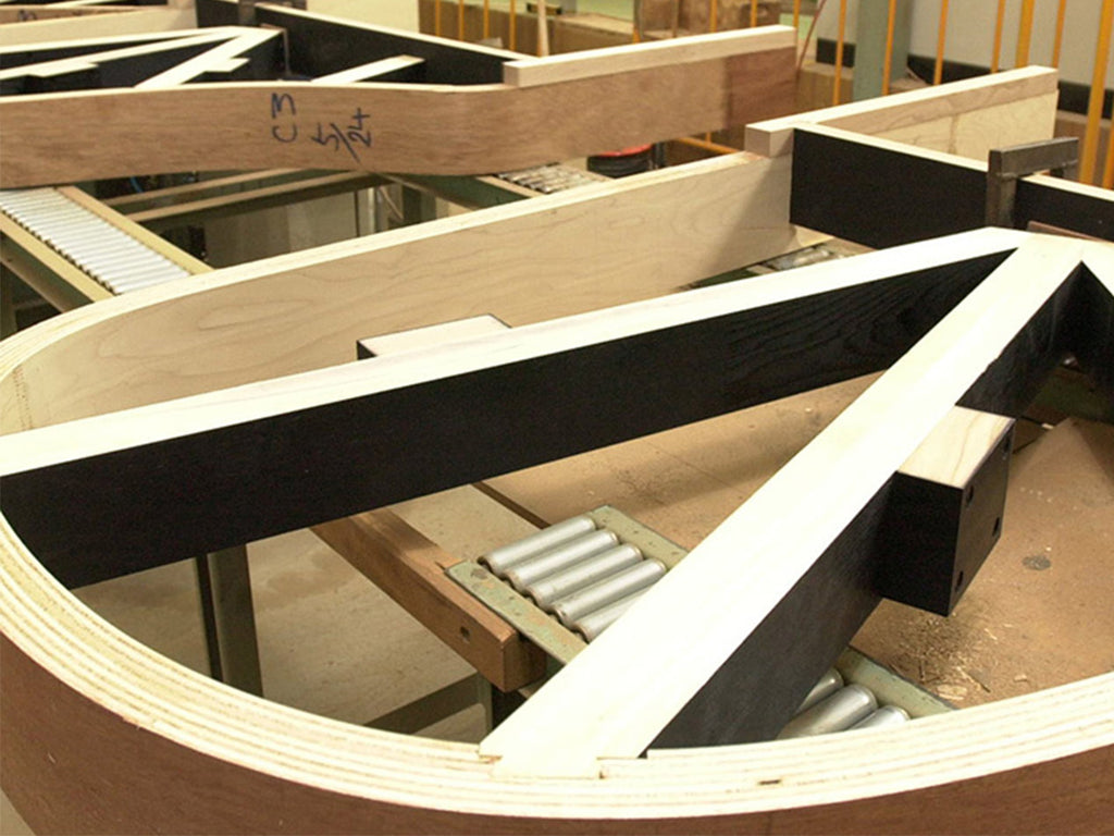 Making a grand piano: 1. The frame