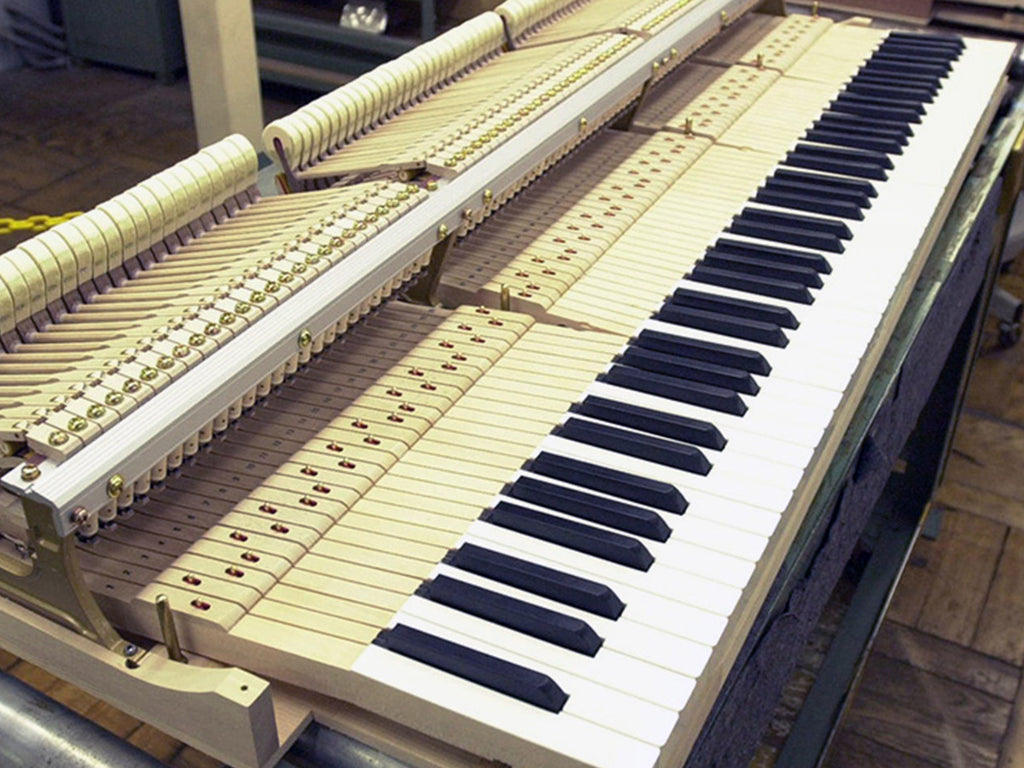 Making a grand piano: 3. The keyboard
