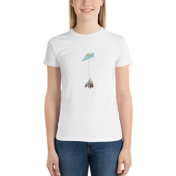 Bee Plane Short sleeve women's t-shirt