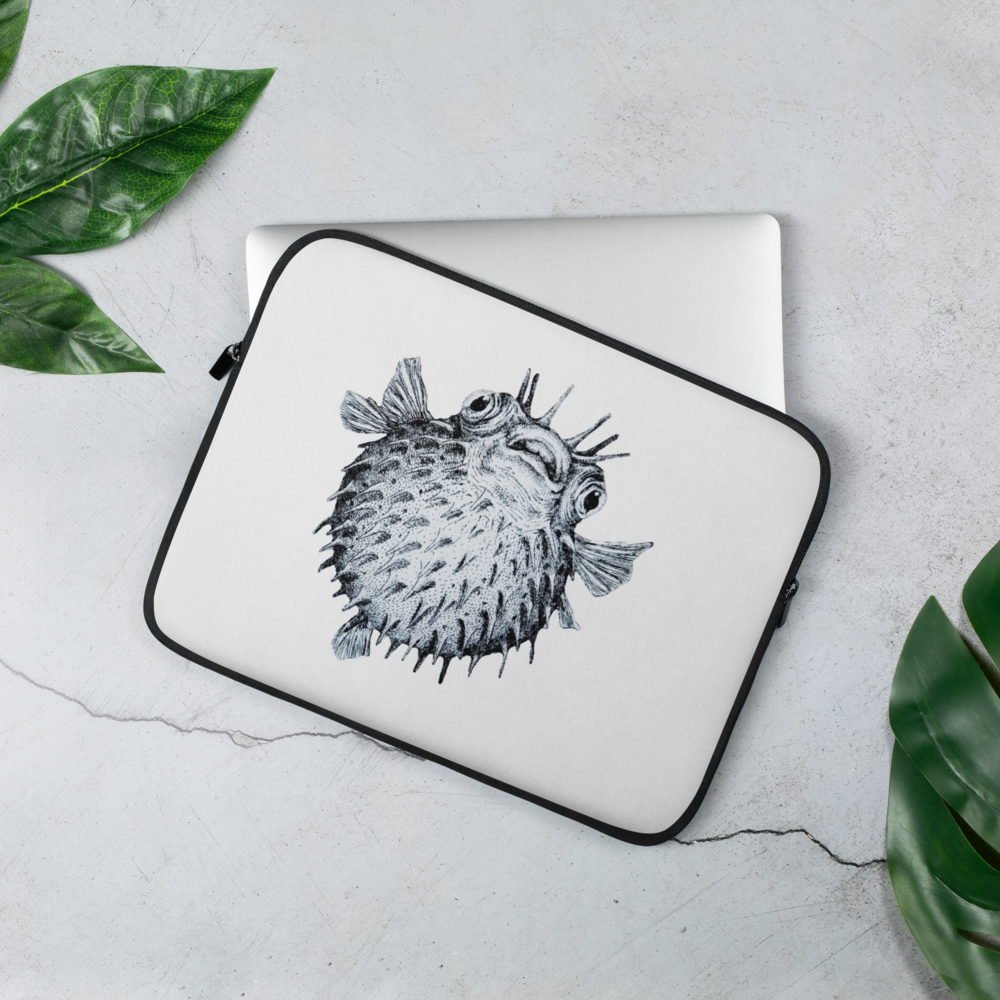 Pufferfish Laptop Sleeve