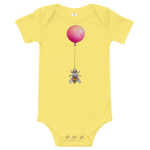 Bee Balloon Onesie