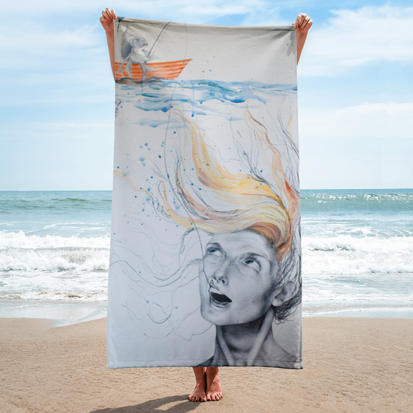 Bone Collector Beach Towel