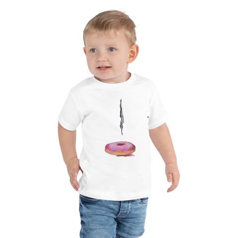 Donut Diver Toddler Short Sleeve Tee