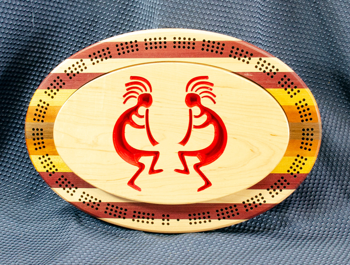 Cribbage Boards: 3 Player
