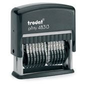 Trodat 13 Band Numbering Stamp - Black Ink