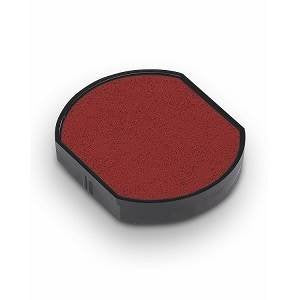 Trodat 46040 Replacement Ink Pad for the Trodat 46140 Date Stamp, Red Ink, 2 pack