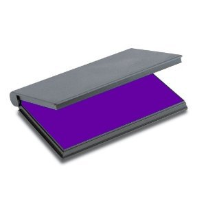 Shiny Stamp Pad with Purple Ink
