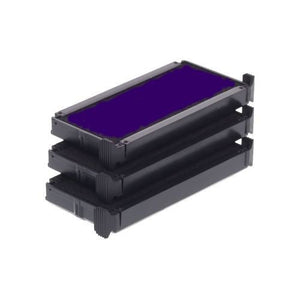 Trodat Replacement Ink Cartridge 6/4913 - pack of 3 Color violet